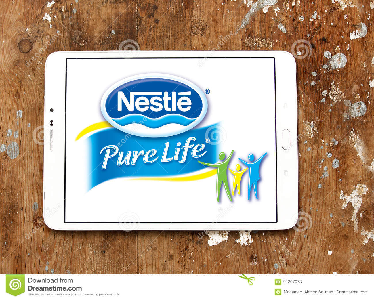 Nestle pure life logo editorial stock photo  Image of perrier - 91207073