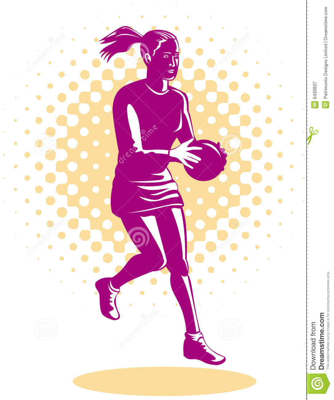 how to play netball video