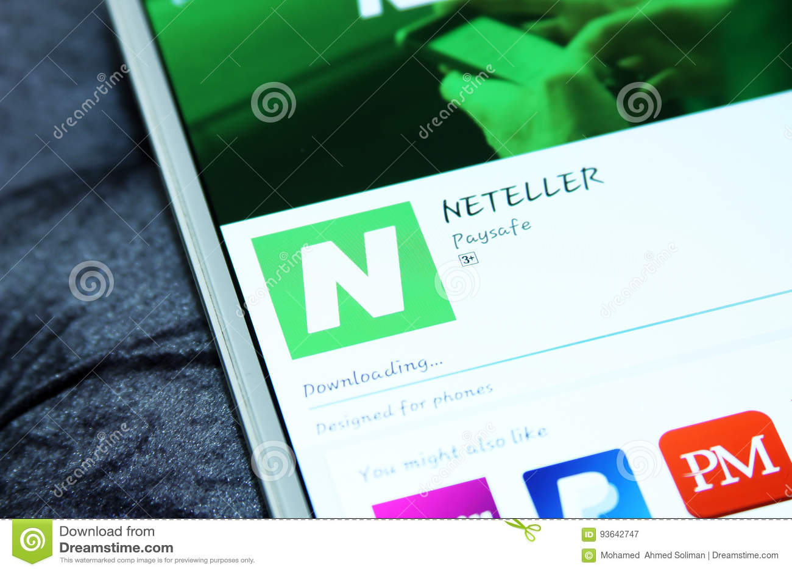 Neteller App Store