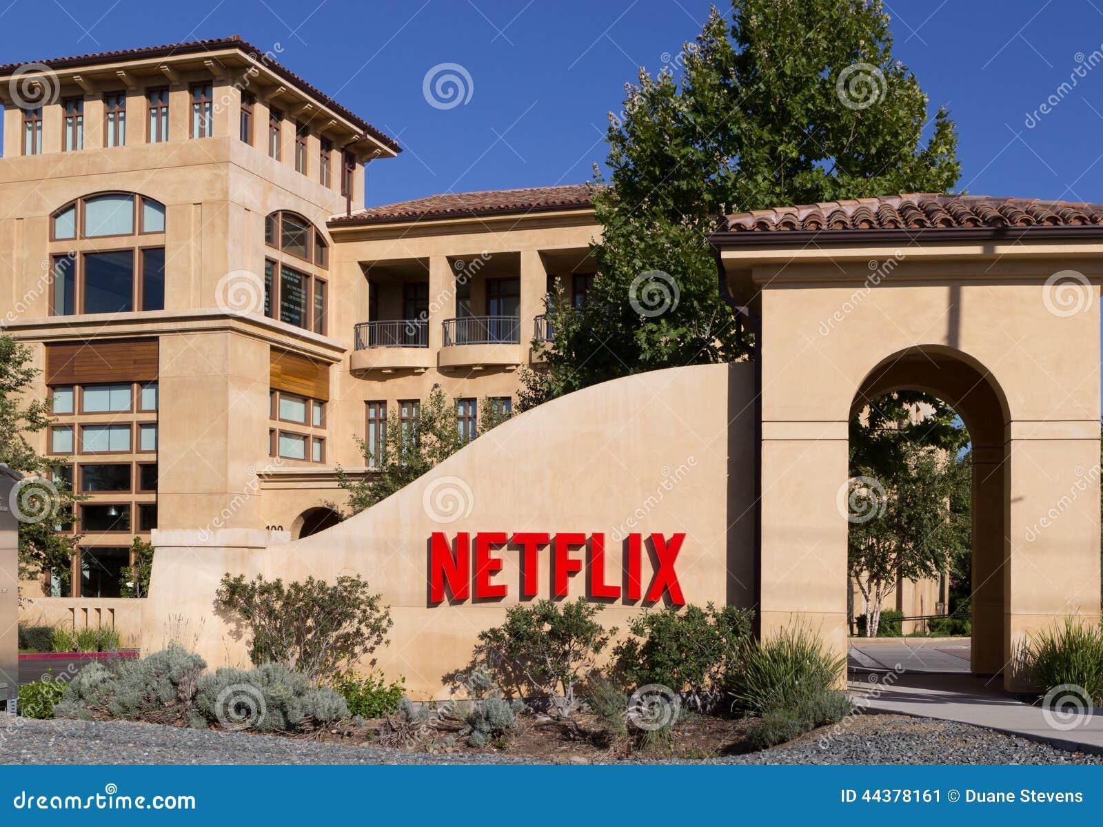 Netflix headquarters, Los Gatos, California USA