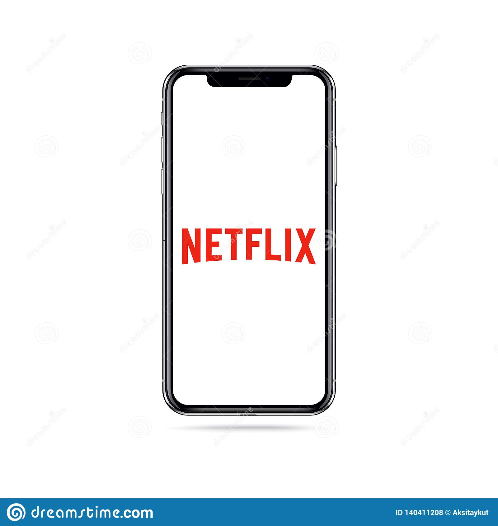 Netflixapp embleempictogram op het iphonescherm