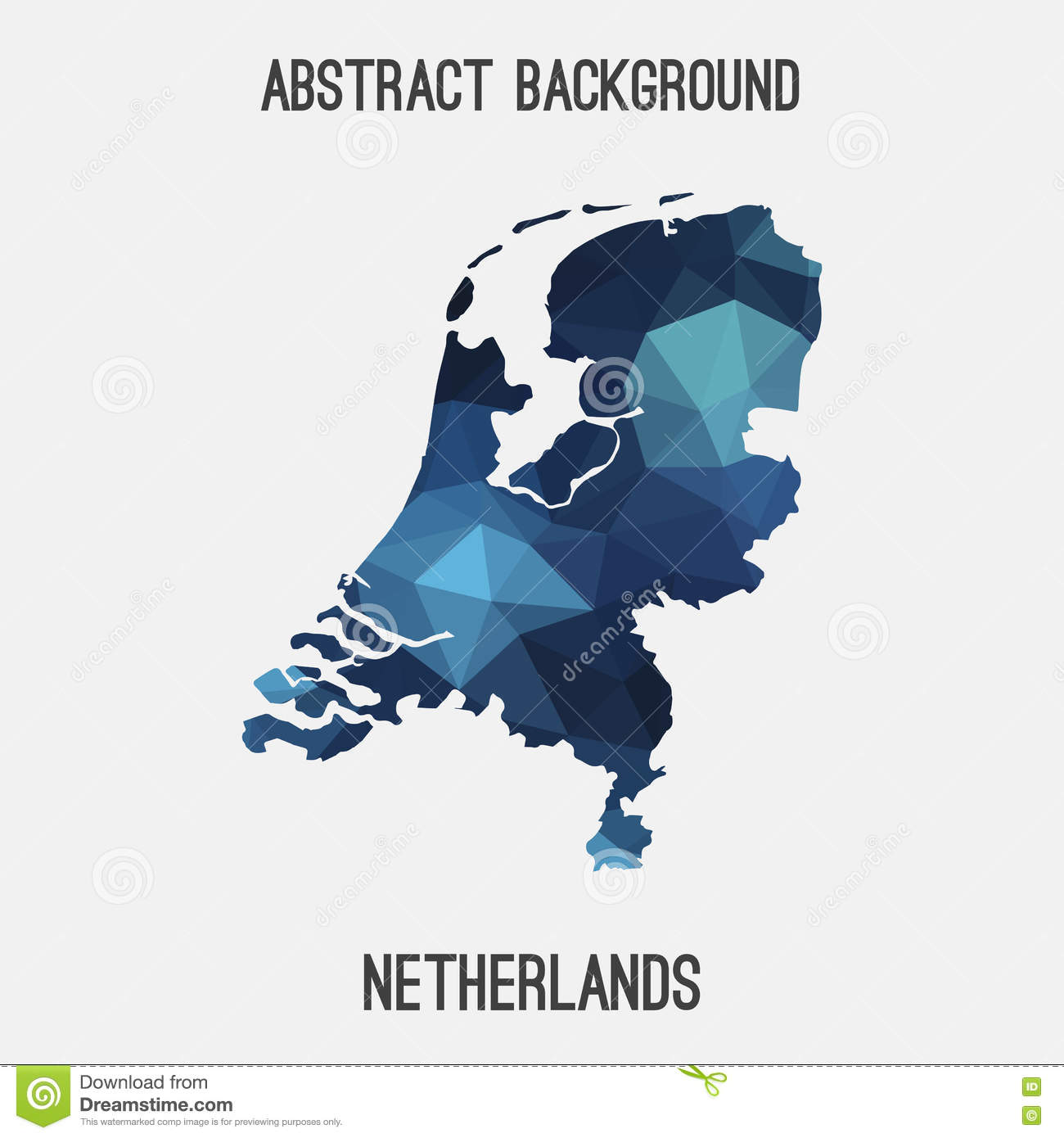 Picture of: Netherlands Holland Map In Geometric Polygonal Mosaic Style Stock Vector Illustration Of Europe Polygon 79931921
