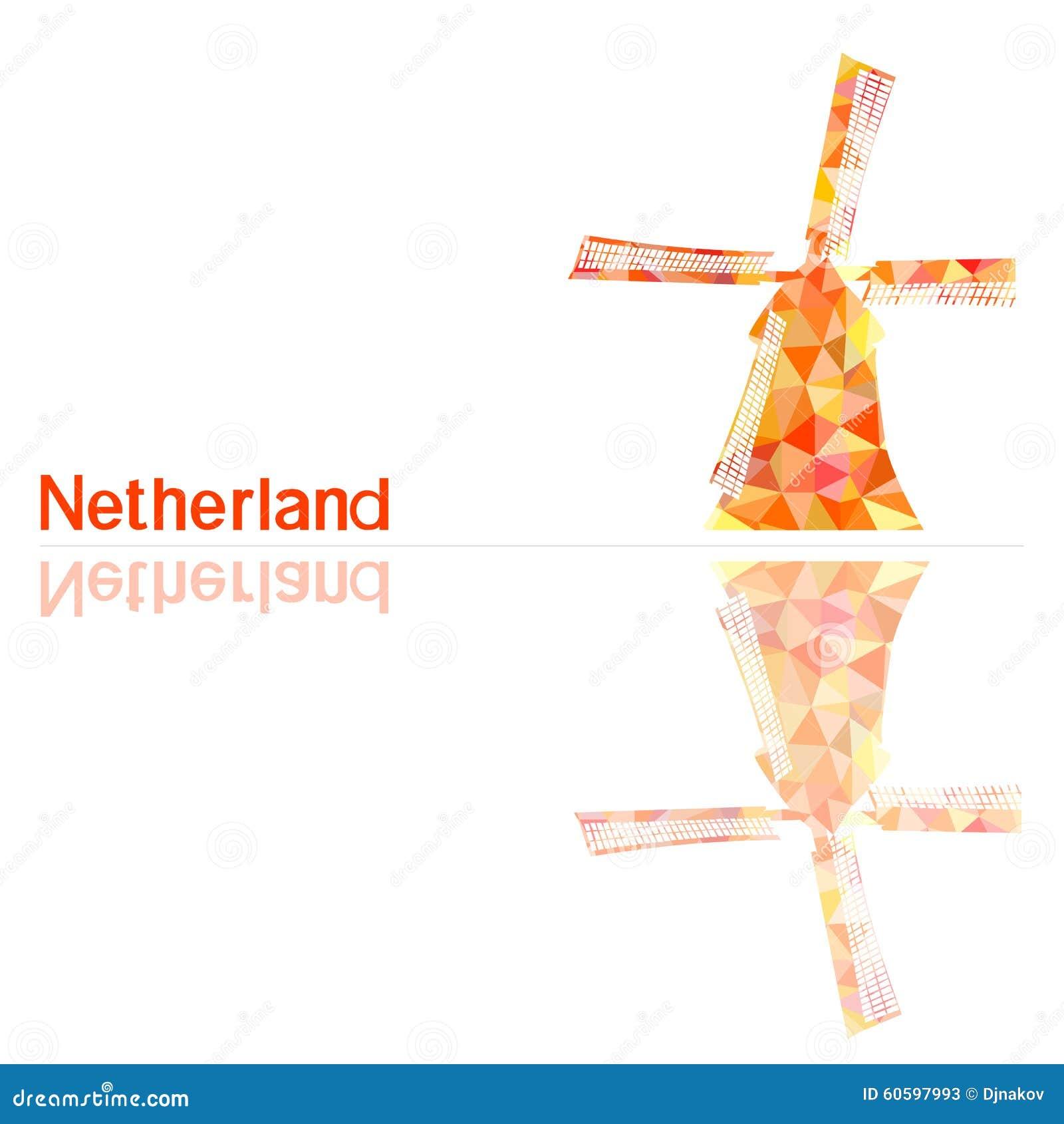Netherlands Symbol Stock Illustration Illustration Of Flour 60597993