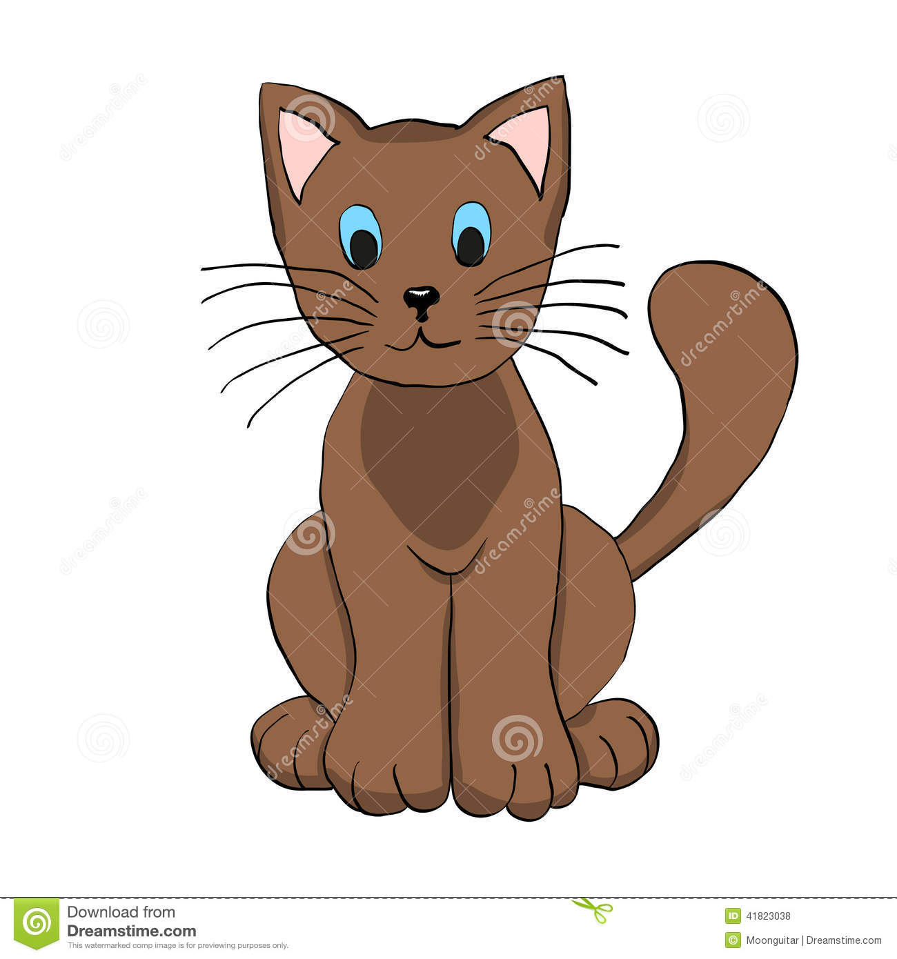 Happy Cat Clip Art Free
