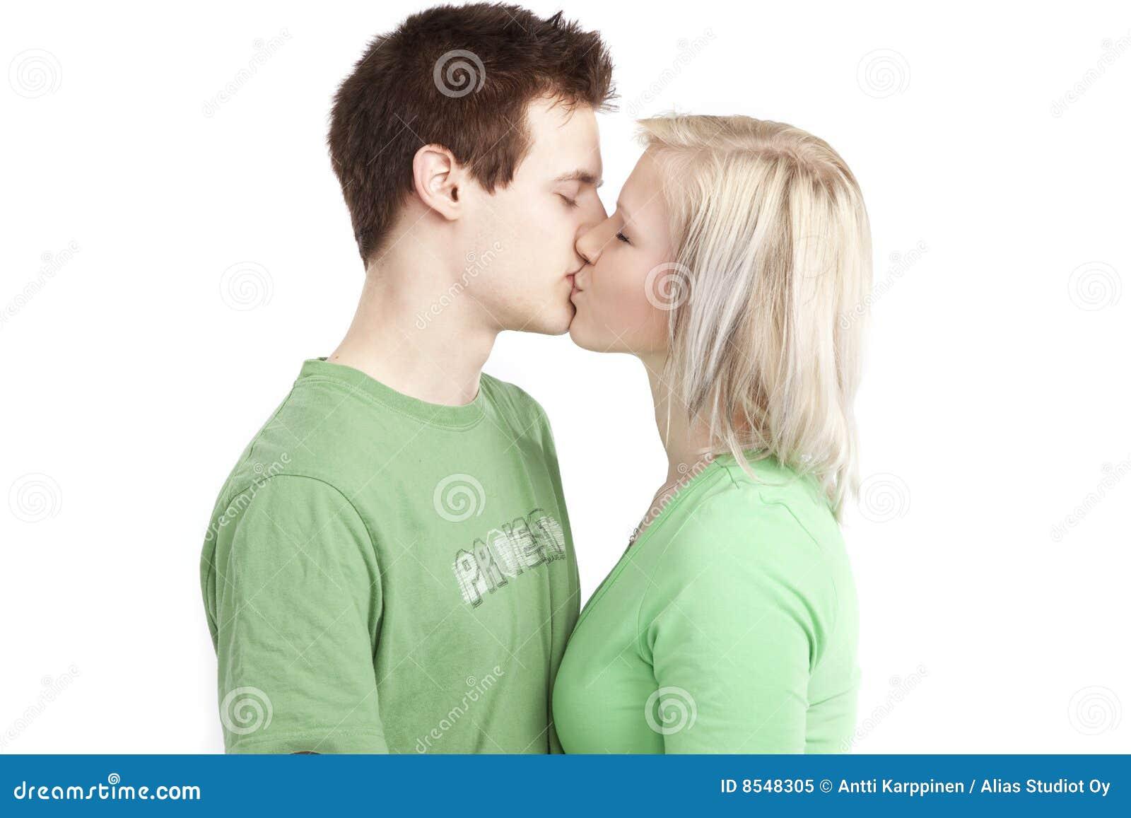 Nette junge Paare