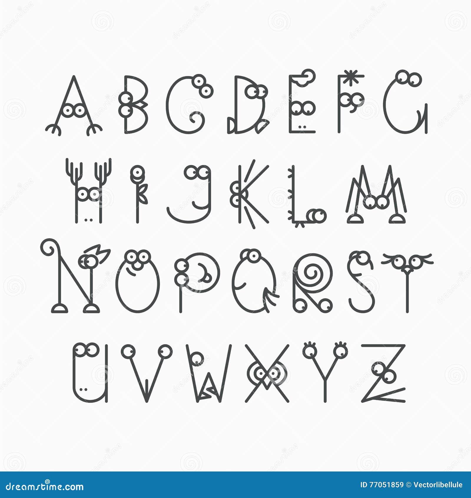 malvorlagen xl font  28 images  brushpen alphabet modern