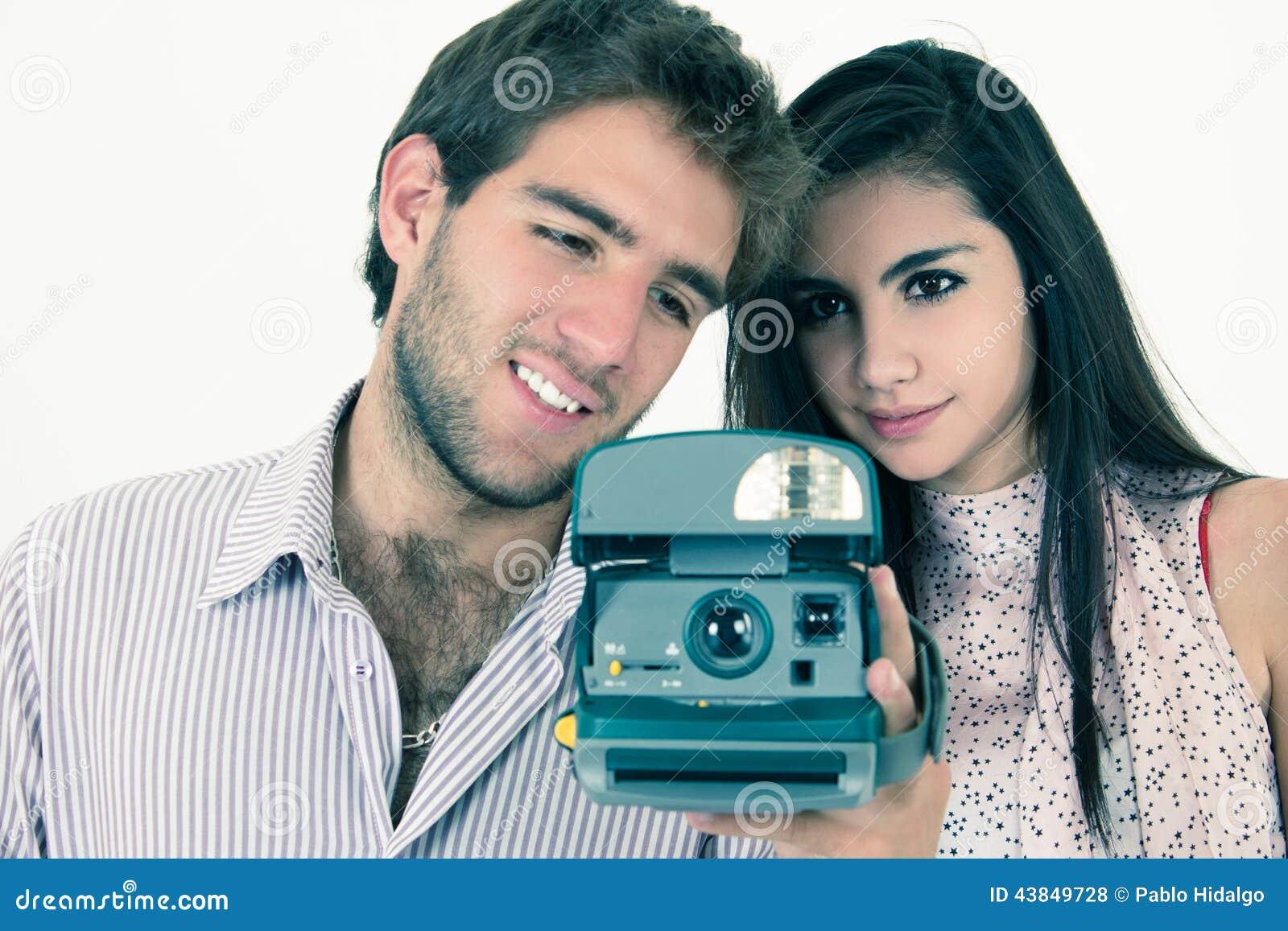 Mit der kamera flirten