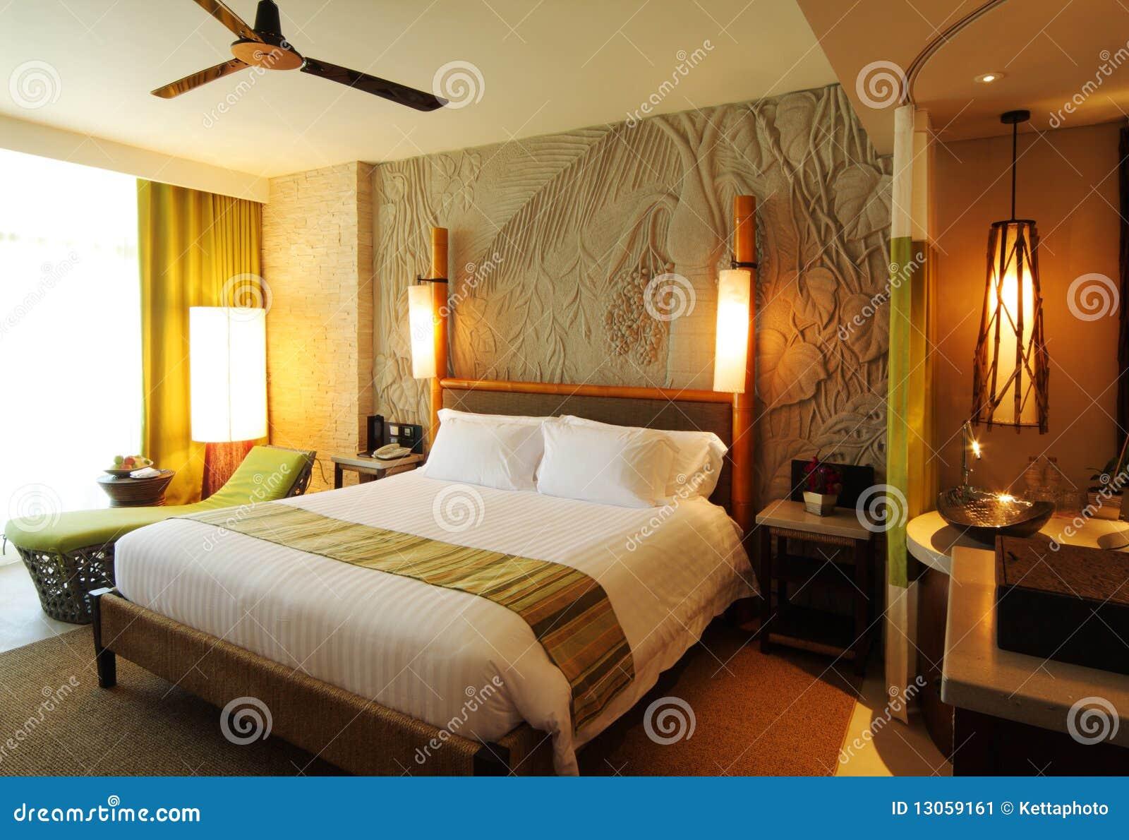 Hotel Raum Im Konzept Zurück Zu Natur