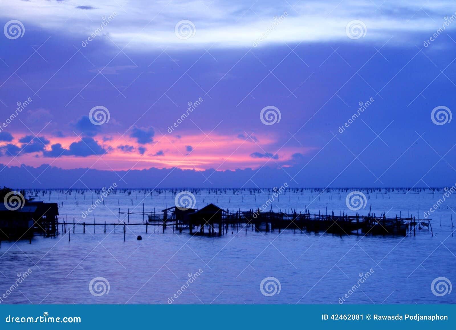 Netter Sonnenuntergang