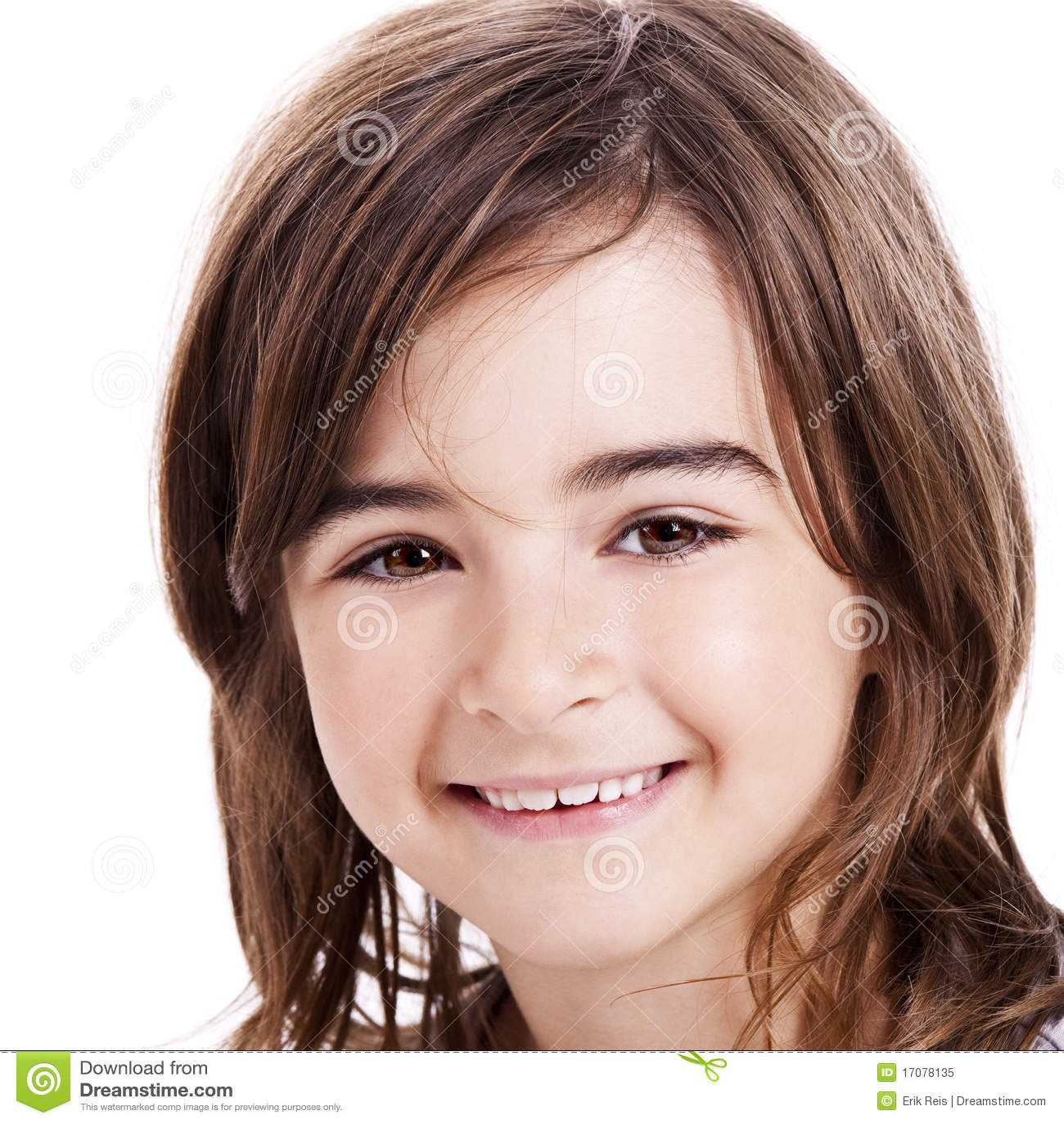 Nettes kleines Mädchen