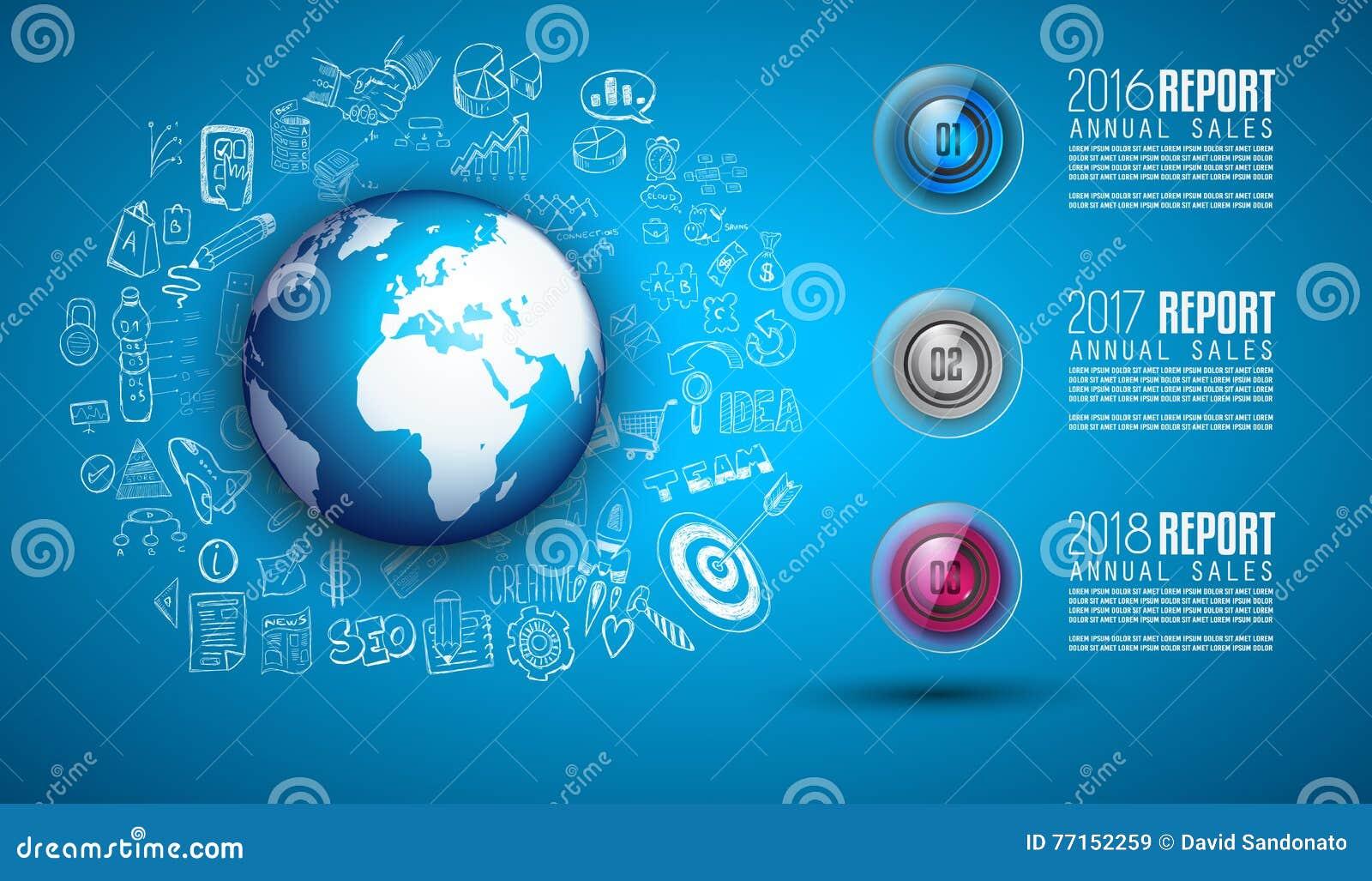 Nettoyez le calibre de disposition d Infographic pour l analyse de données et d information