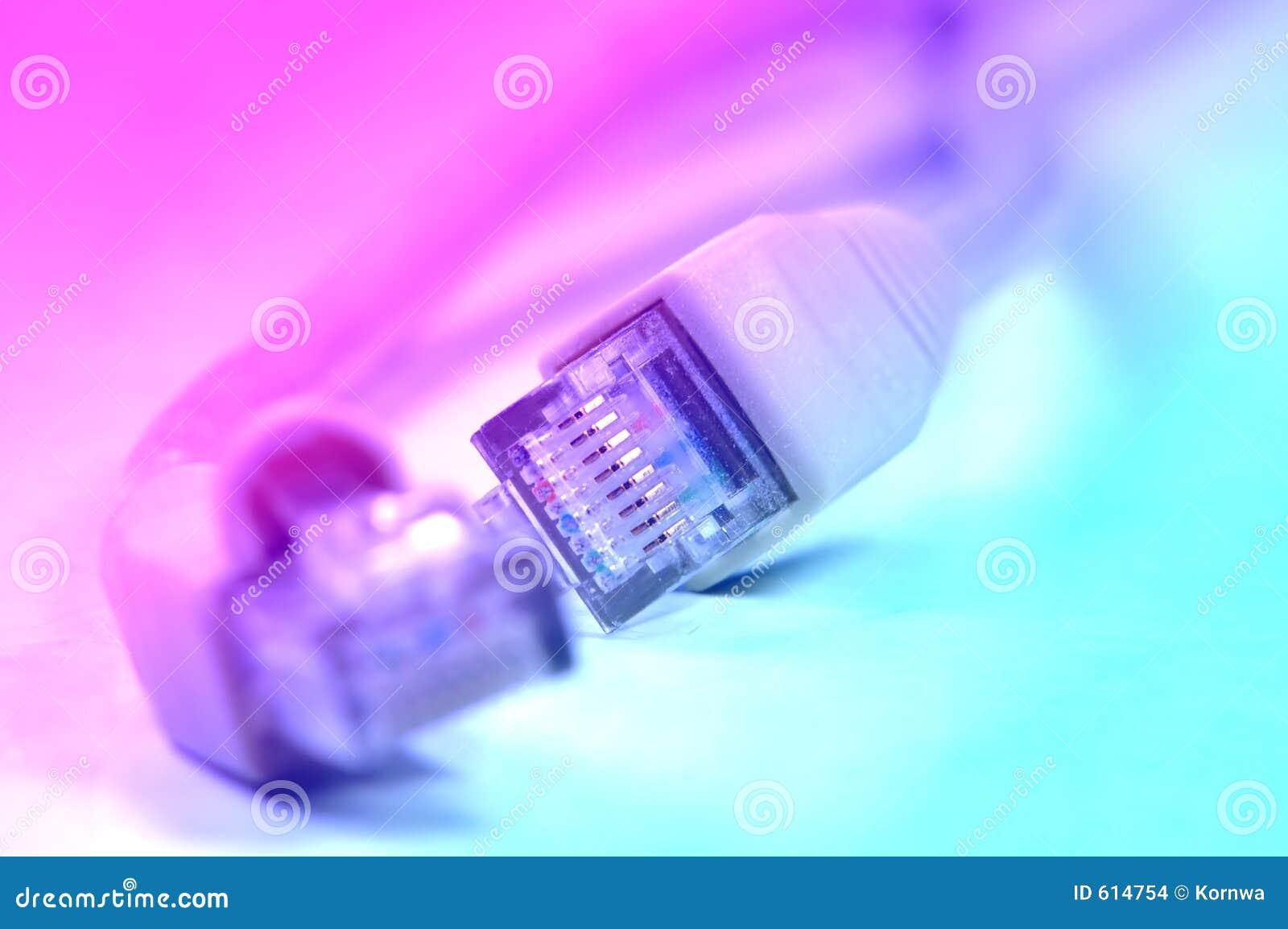 Netwerk rj45 plugin