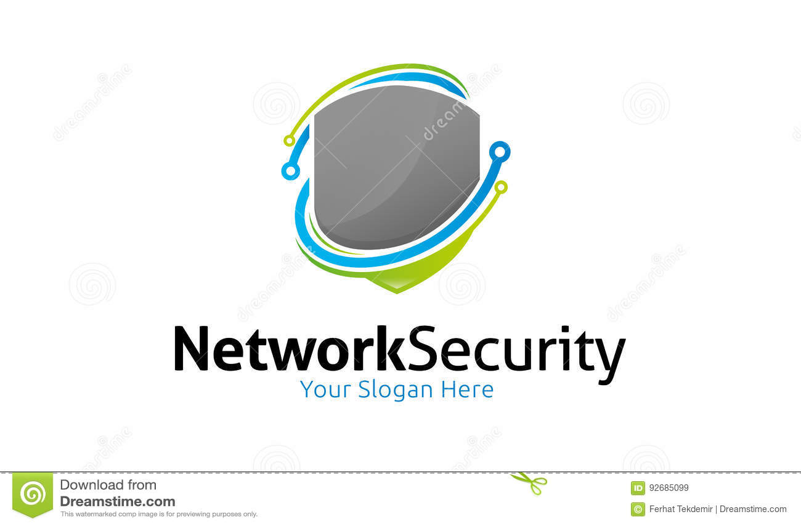 Netwerkbeveiligingembleem