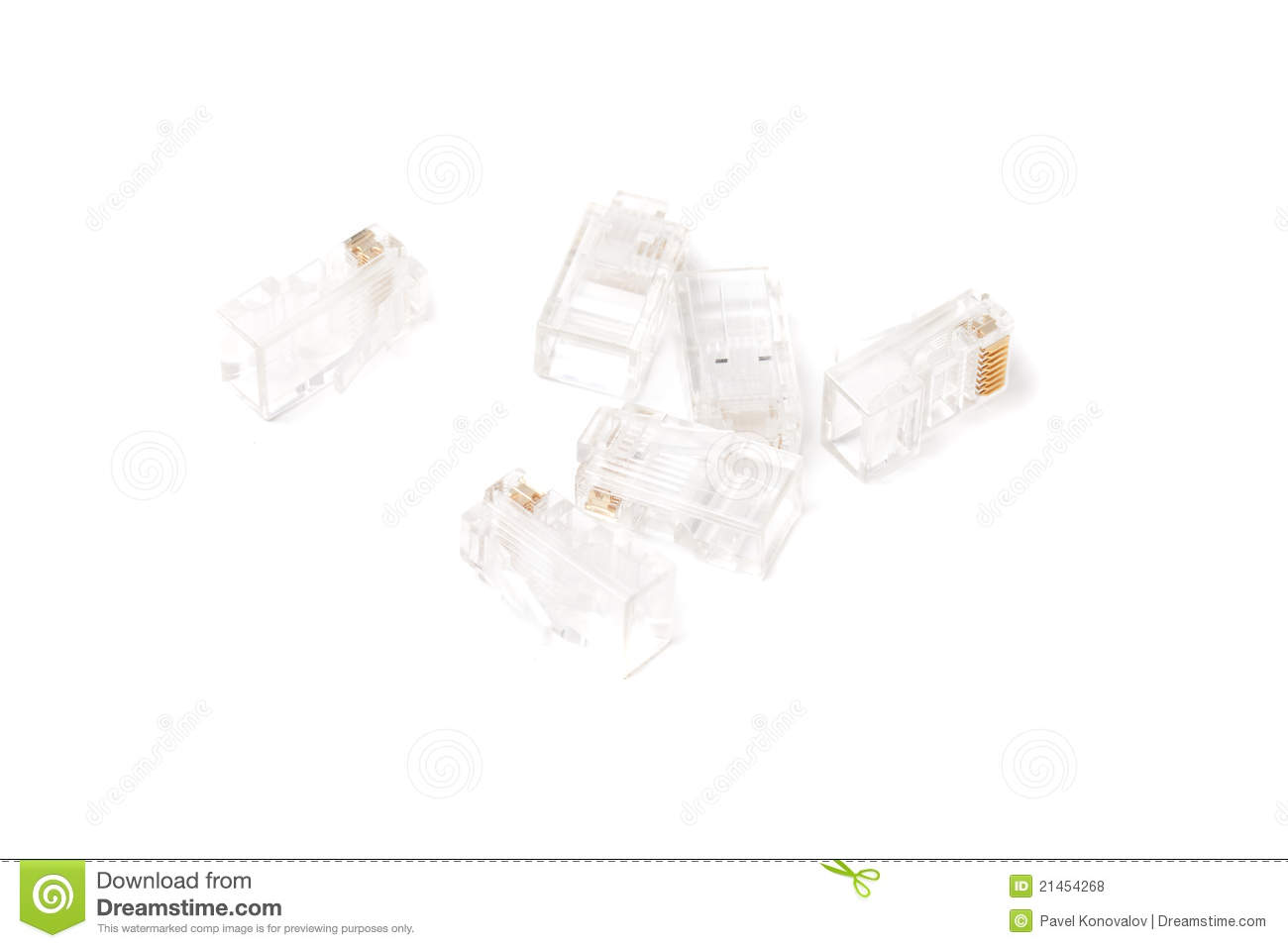 network cable connector royalty free stock photos