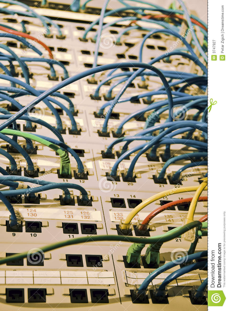 Network cables and hubs