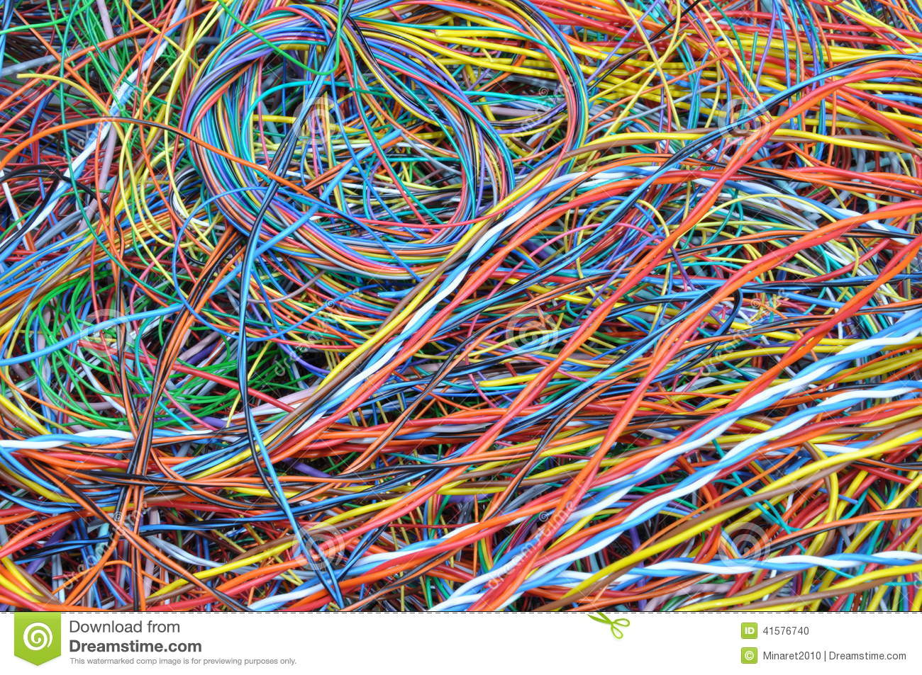 network chaos of colorful computer cables stock photo power cord ground color power cord wiring colors