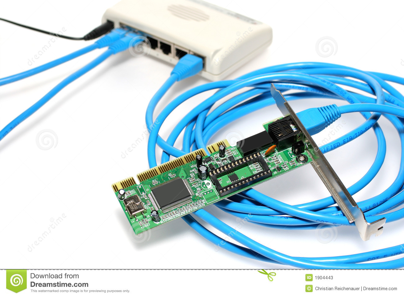 Network Components Stock Photos - Image: 1904443
