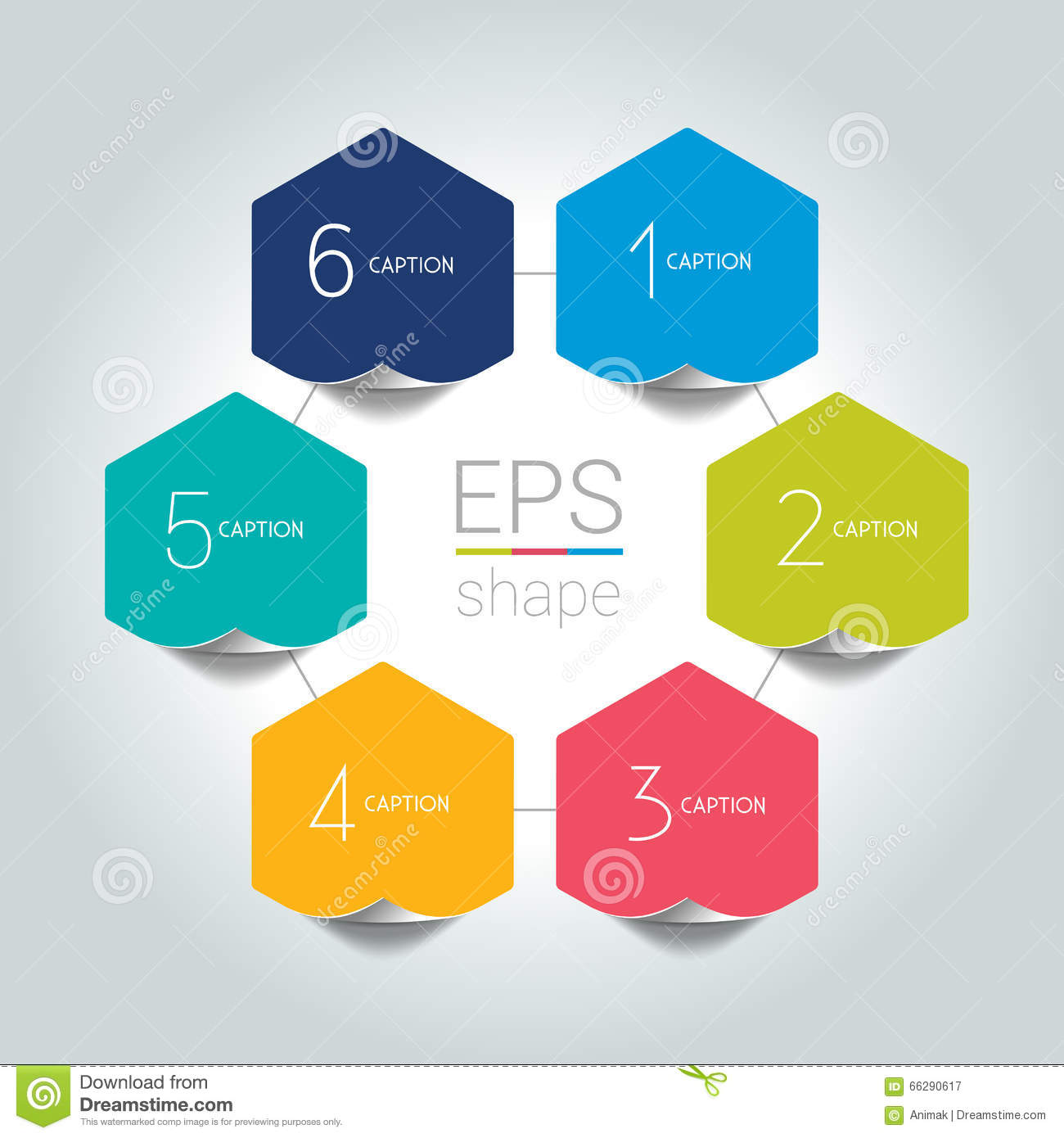 Modern classroom design - Text Box Infographic 6 Step Design Stock Vector Image 66290617