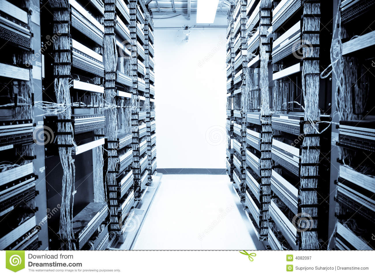 Network Data Center Royalty Free Stock Photography Image