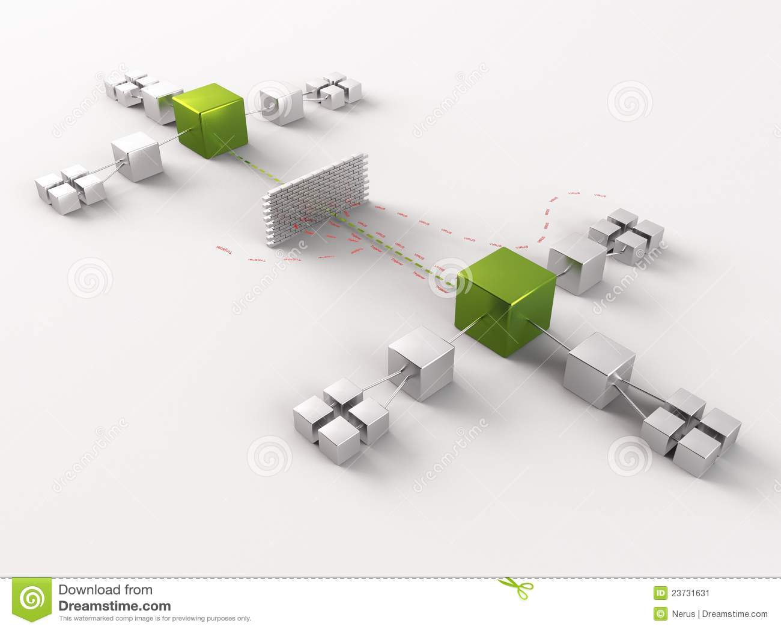 Network Diagram Stock Illustration Illustration Of Illustrated
