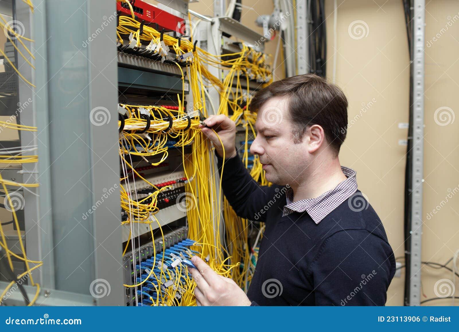 network engineer royalty free stock image