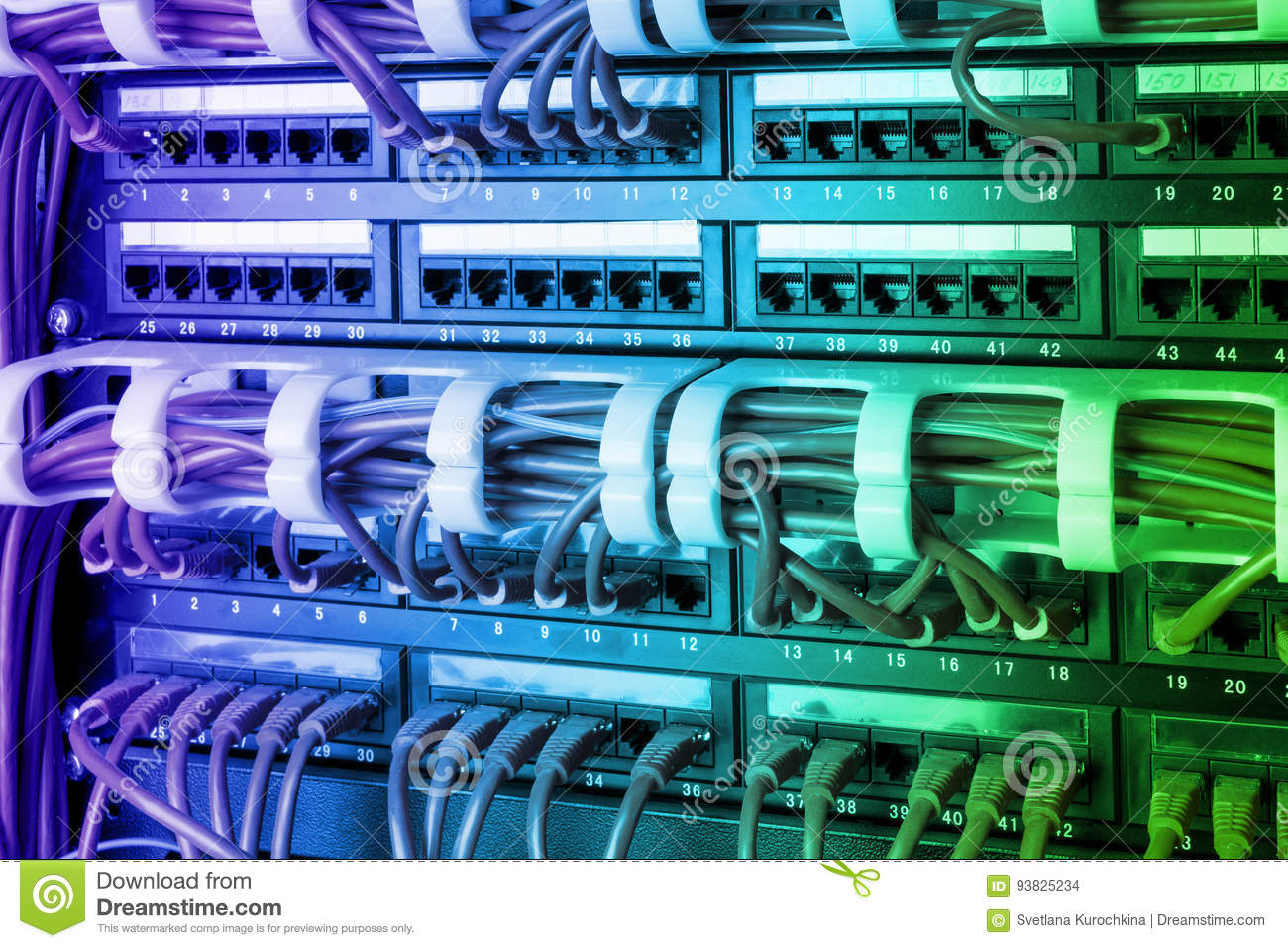 Ethernet Wiring Panel - Schematic Diagrams