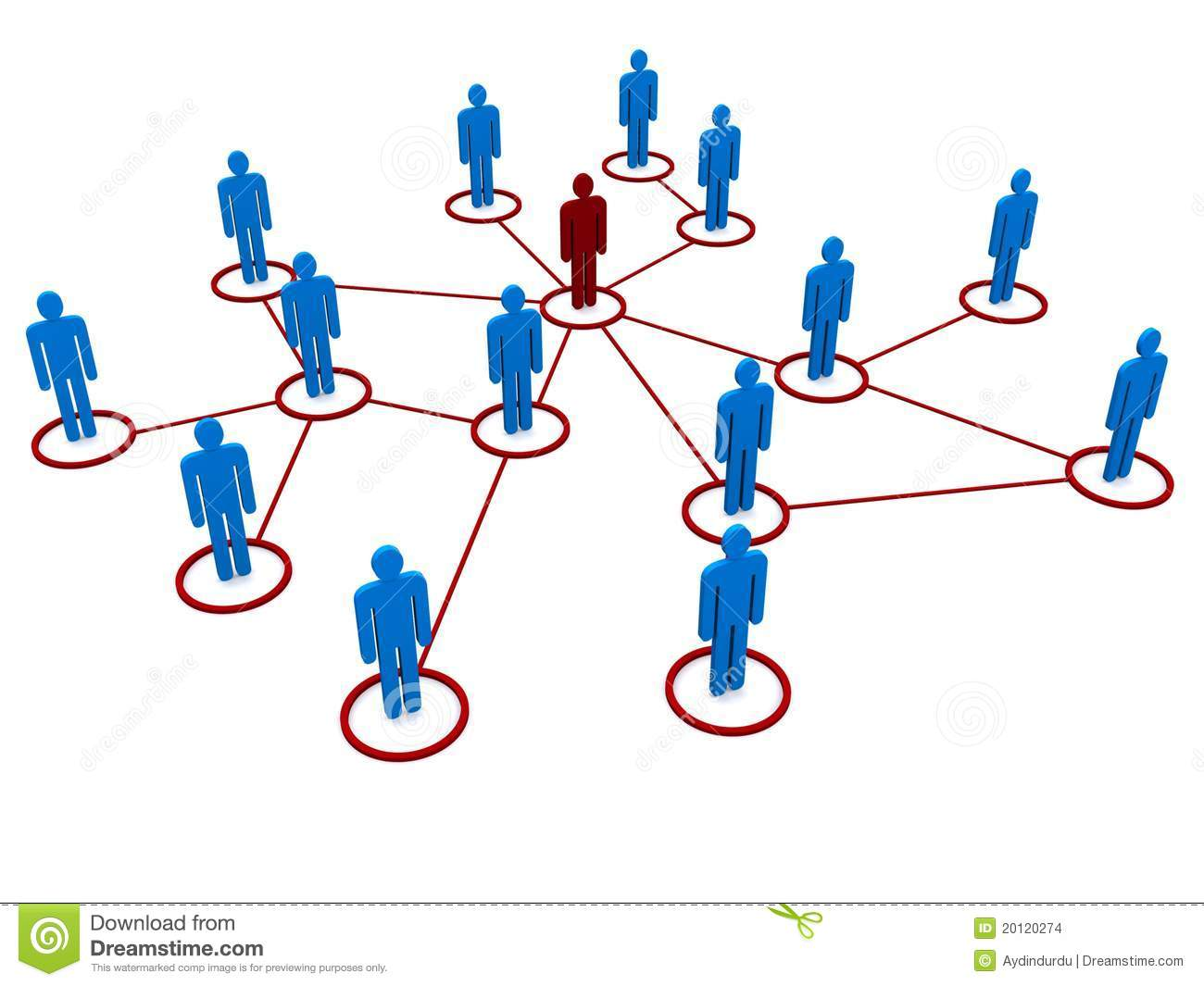 Network Of People Stock Illustration Image Of Structures