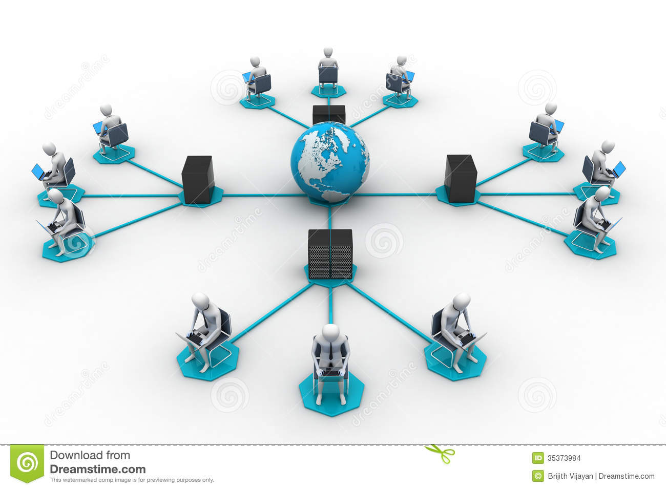 networking people globe stock images image 35373984 networking people globe