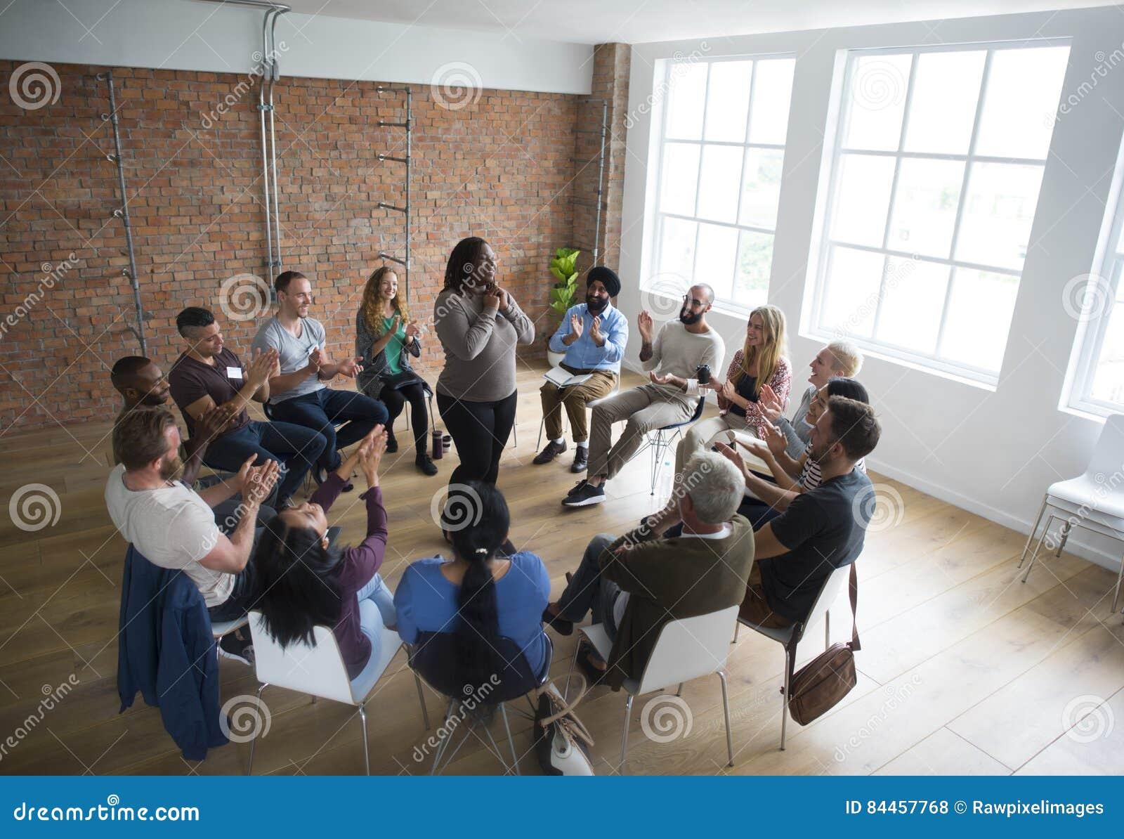 Networking Seminaryjny spotkanie Podnosi pojęcie