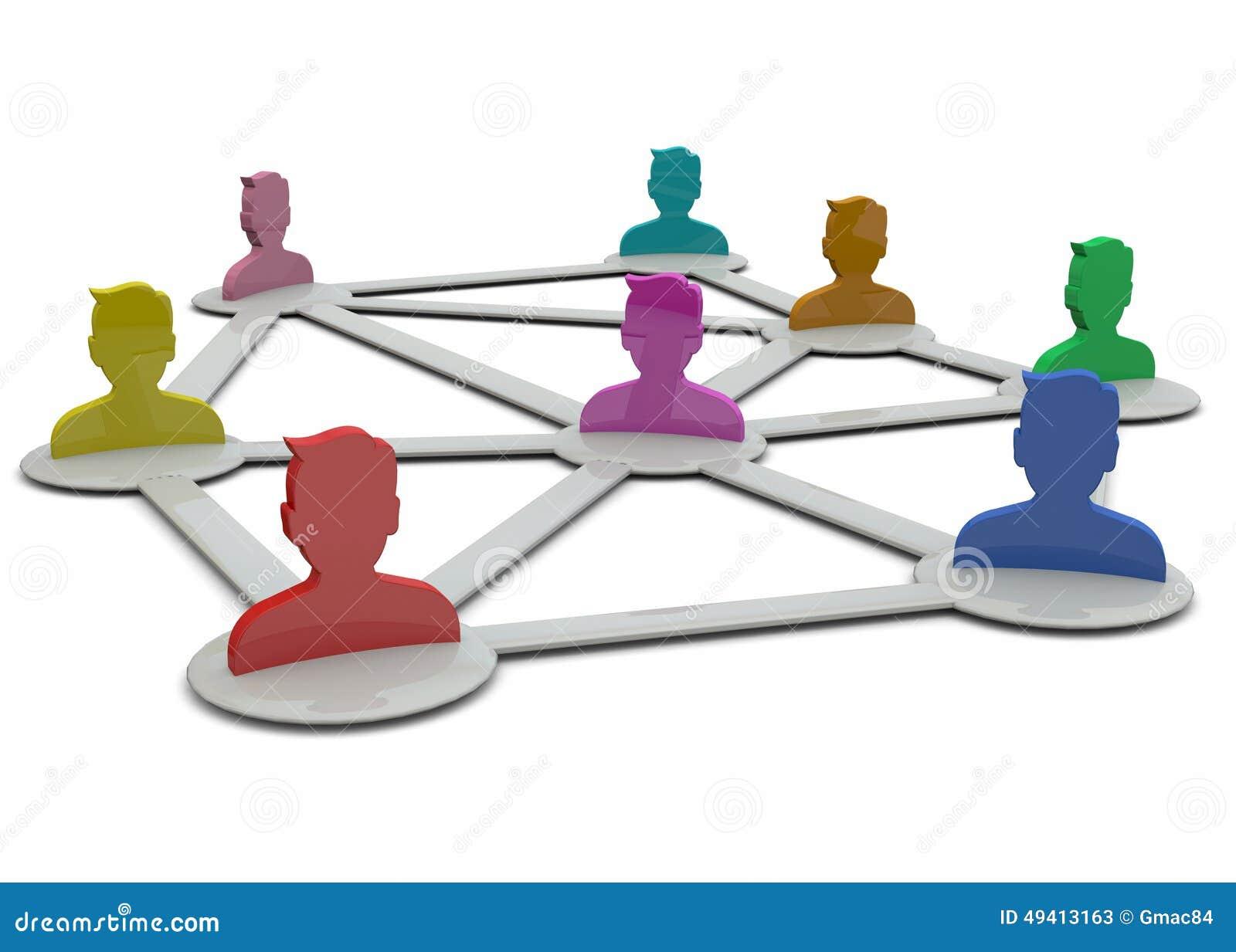 Download Netz-Konzept - 3D stock abbildung. Illustration von kontakt - 49413163