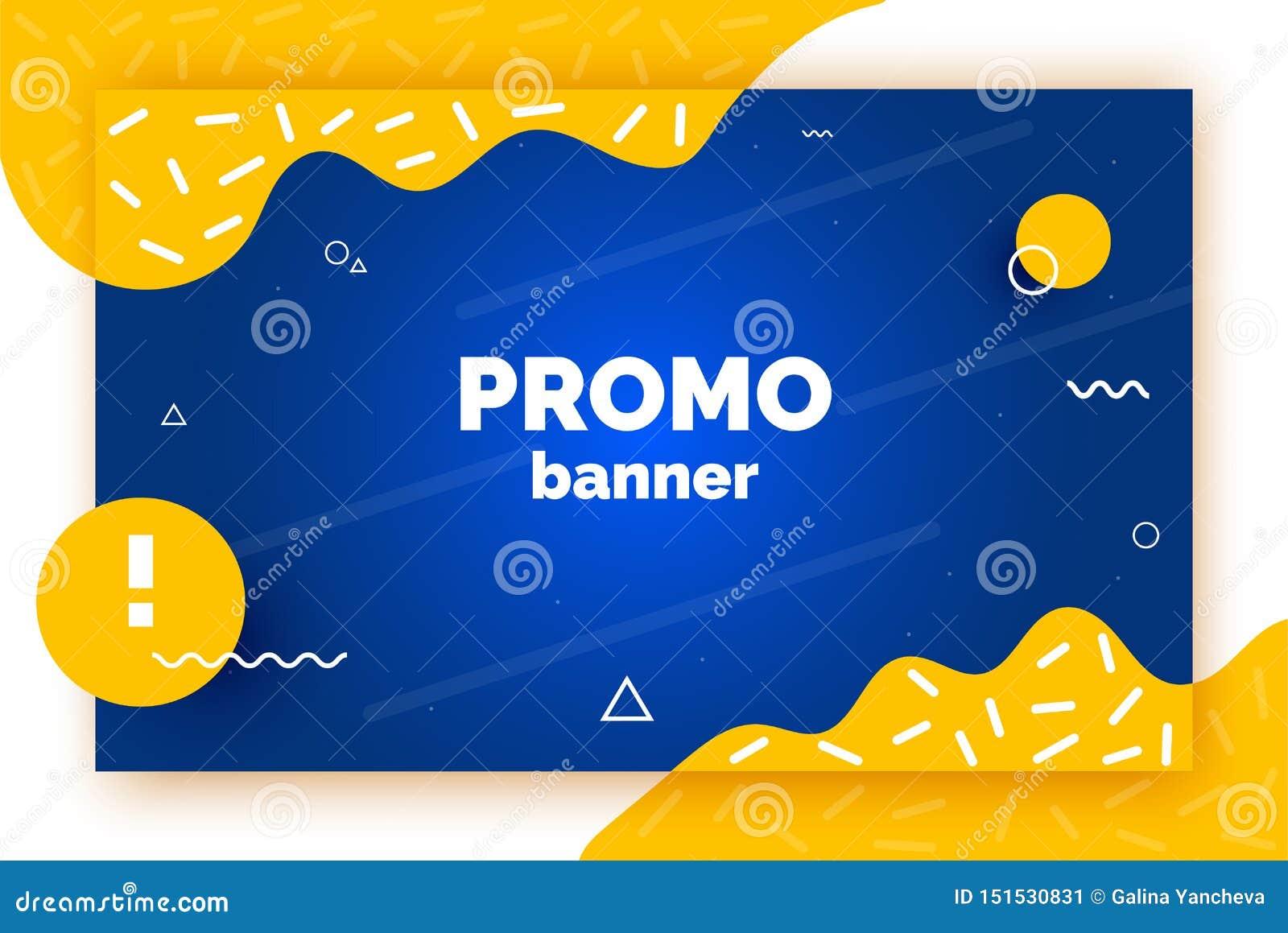 Netzförderungsfahne für Verkauf, Angebot, Anzeige Modischer Vektorhintergrund, Flieger, Plakat, Seite, Abdeckung mit Zusammenfass