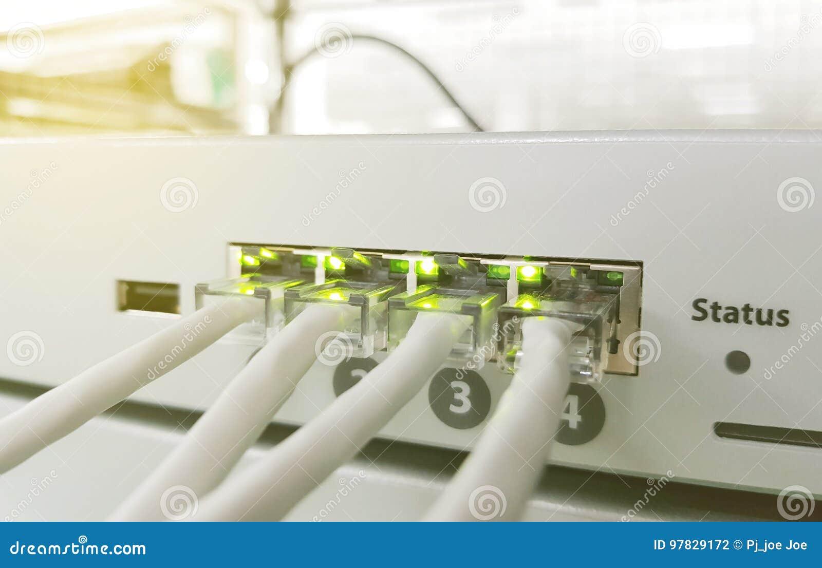 Netzplatte, Schalter