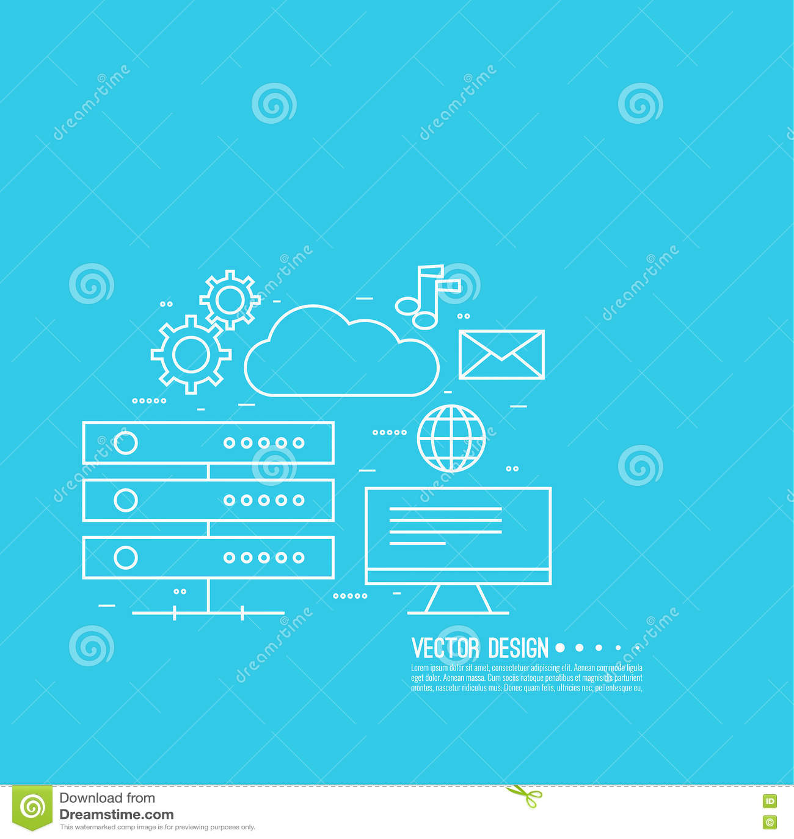 Netzwolkendatenverarbeitung