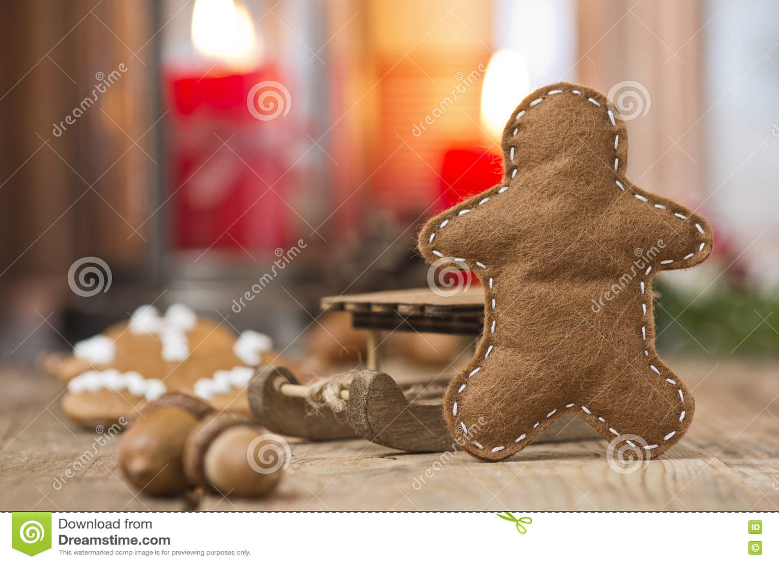 Neue Ideen, Das Haus Zu Verzieren Dieses Weihnachten Stockbild ...