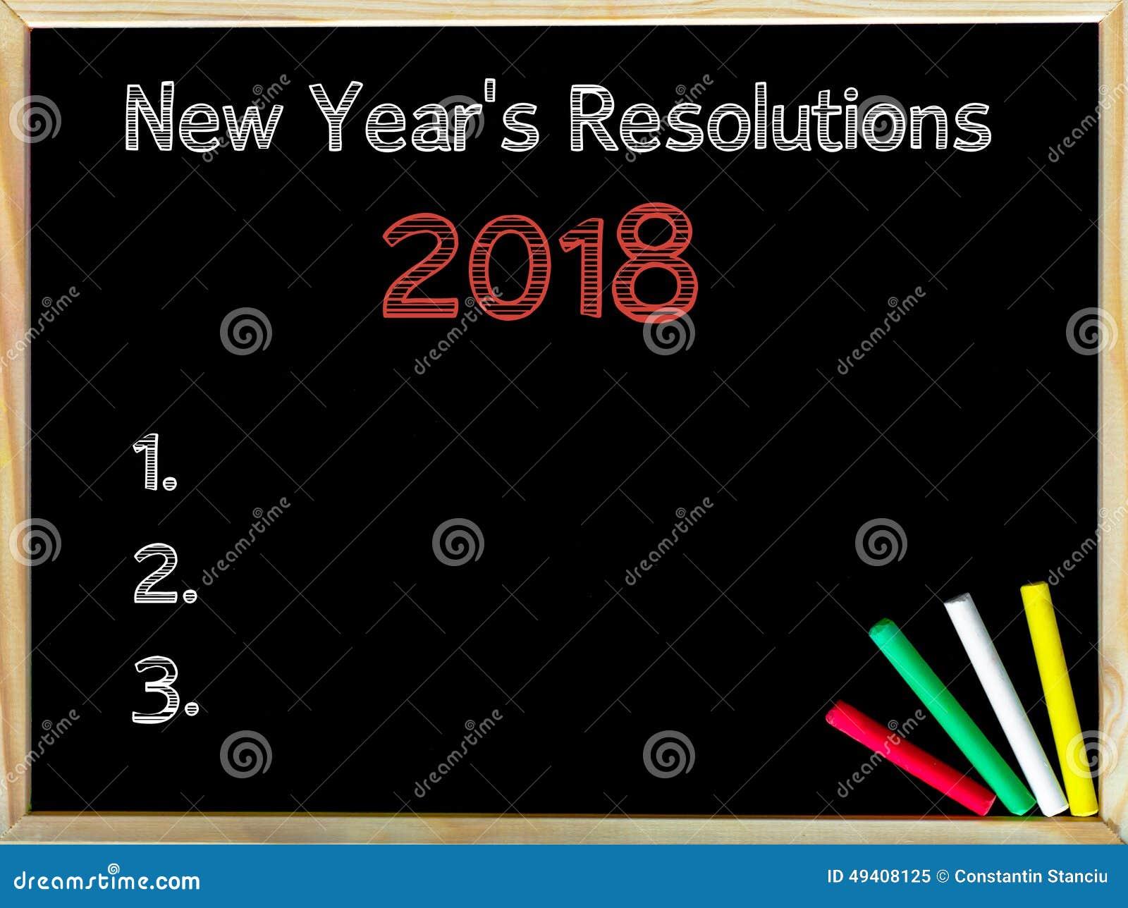 Download Neue Jahre Der Beschlüsse-2018 Stockbild - Bild von anzeige, herausforderung: 49408125