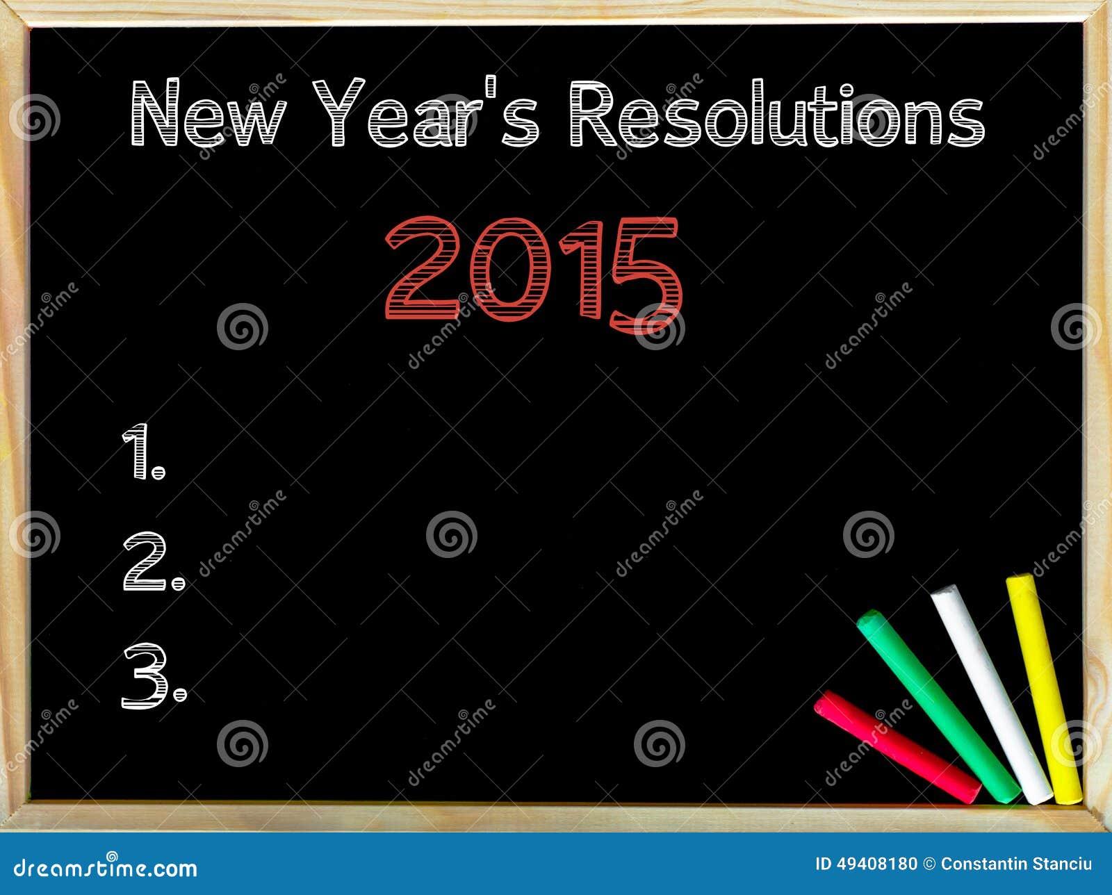 Download Neue Jahre Der Beschlüsse-2015 Stockfoto - Bild von erzielen, herausforderung: 49408180