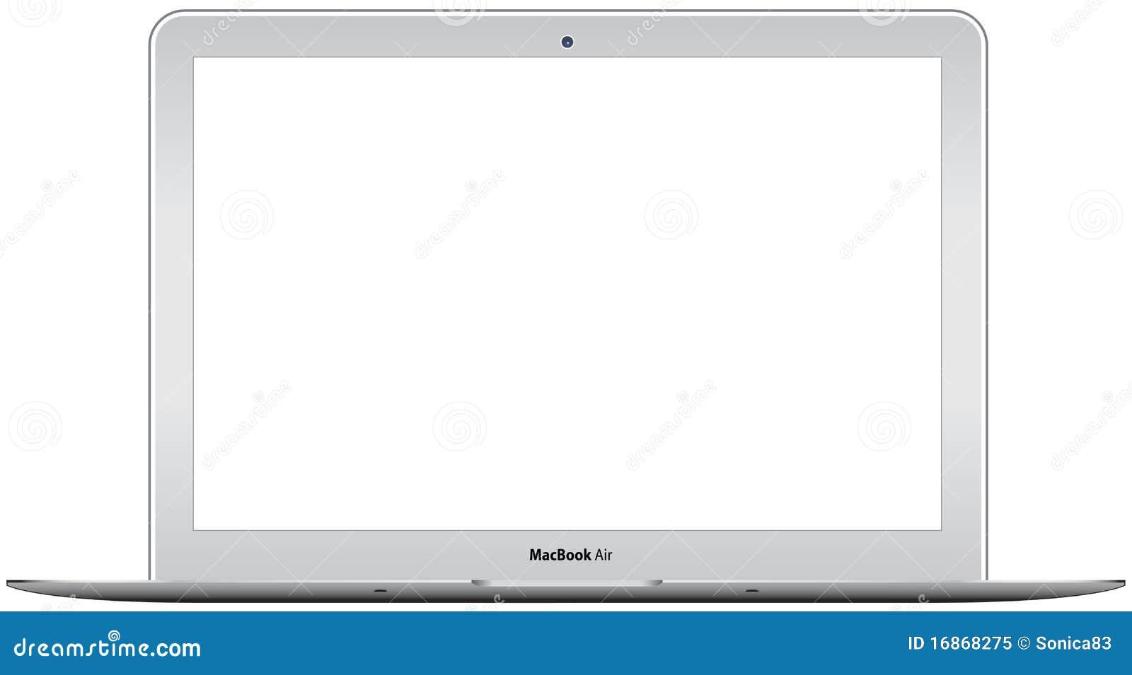 Neue Luft Apple-MacBook