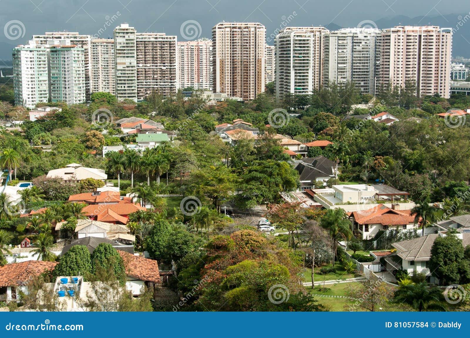Neue moderne Kondominium-Gebäude in Rio de Janeiro