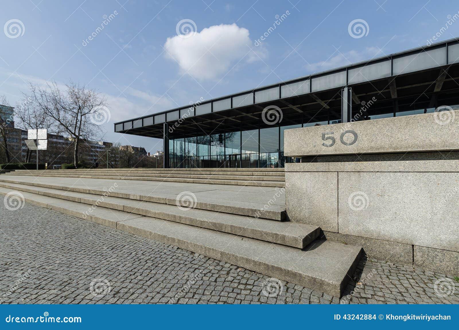 nationalgalerie美术画廊在柏林图片