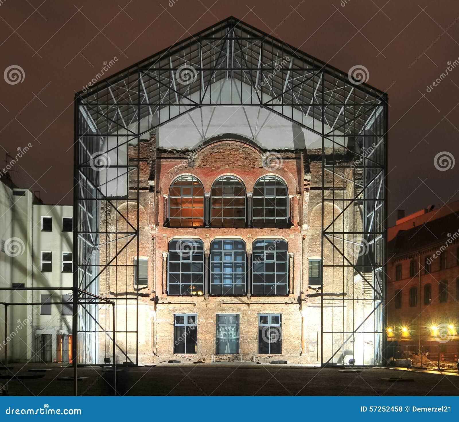 Neue Synagoge-Rückseite - Berlin, Deutschland