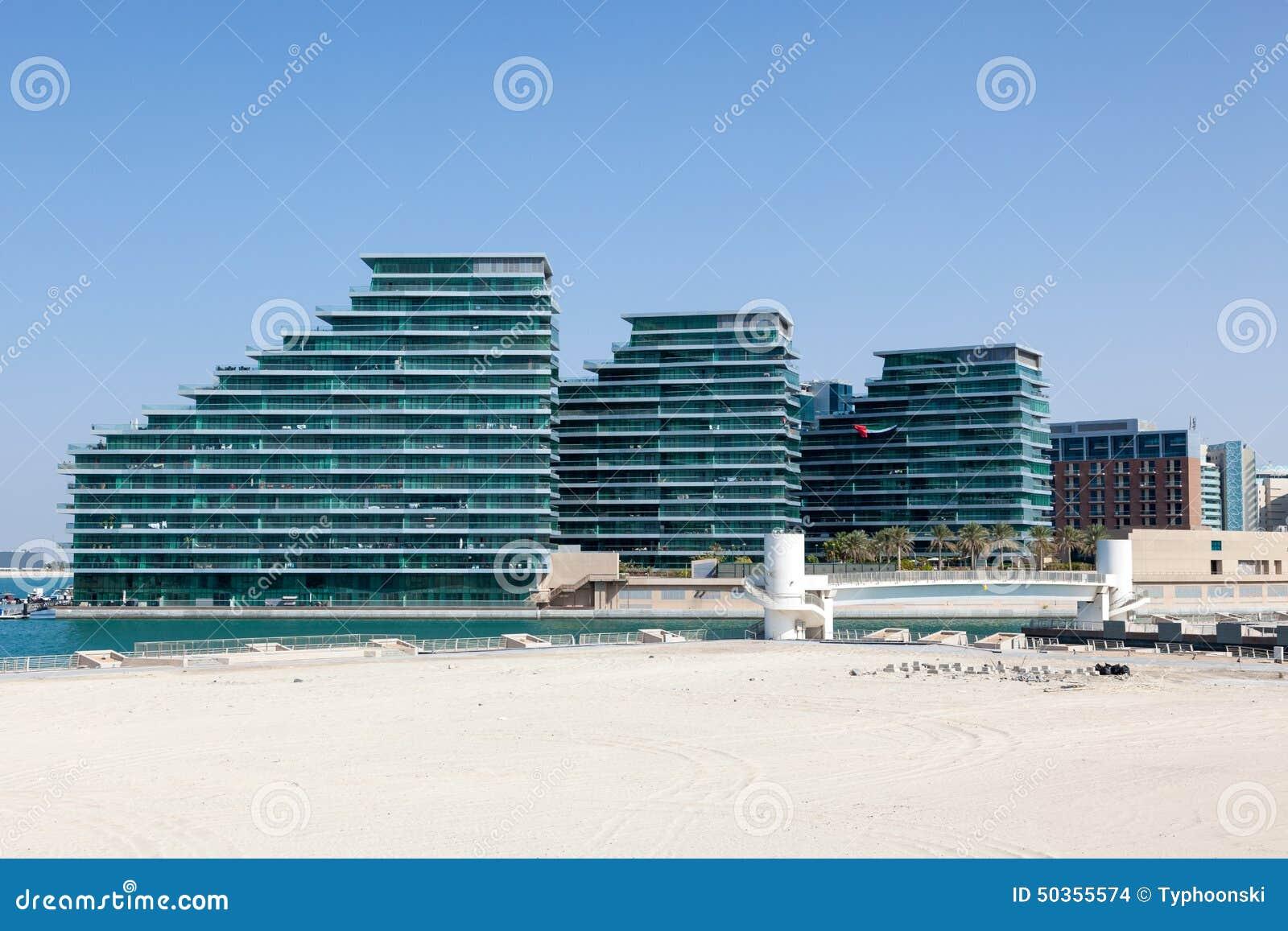 Neue Wohngebäude in Abu Dhabi