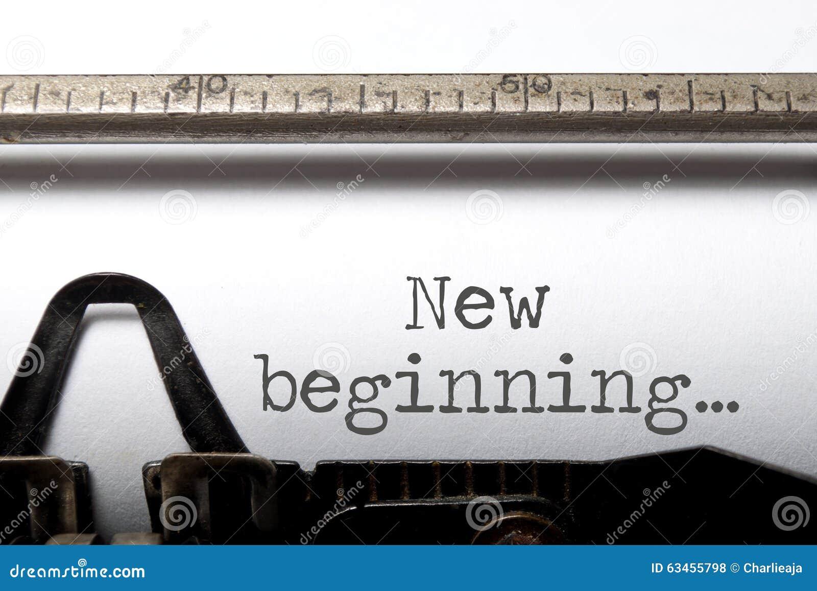 Neuer Anfang