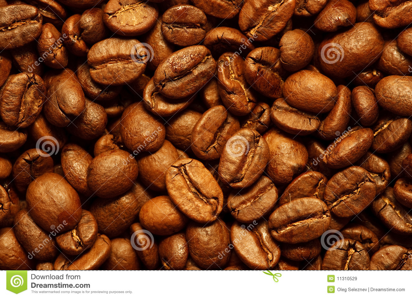 Neuer Kaffeebohnehintergrund