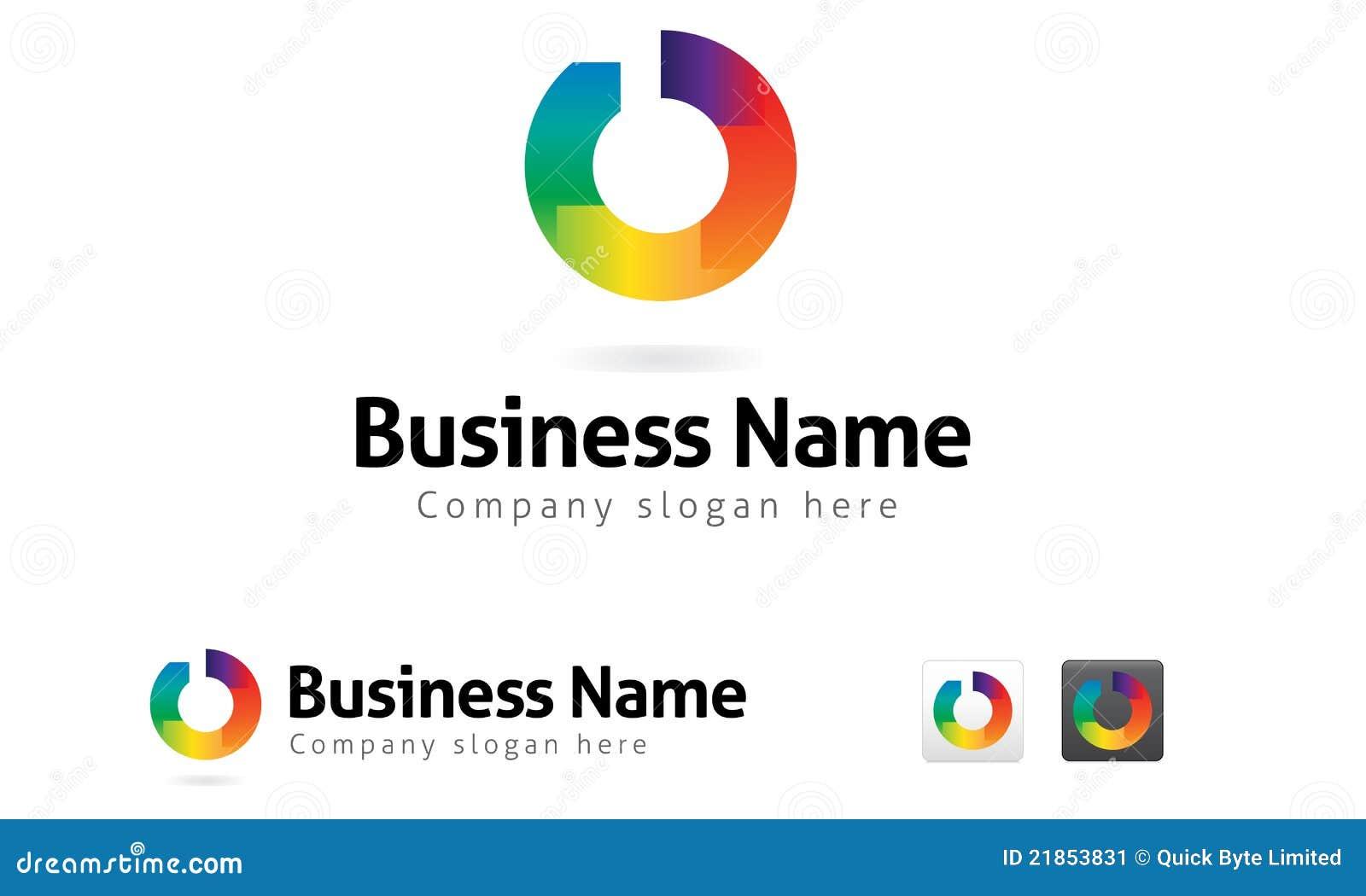 Neuer Kreis-Unternehmenszeichen