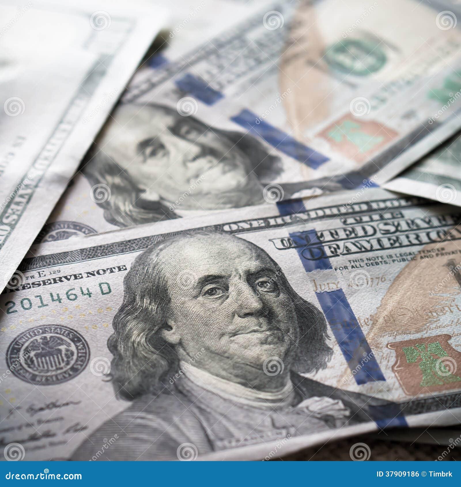 Neuer USD-Hintergrund