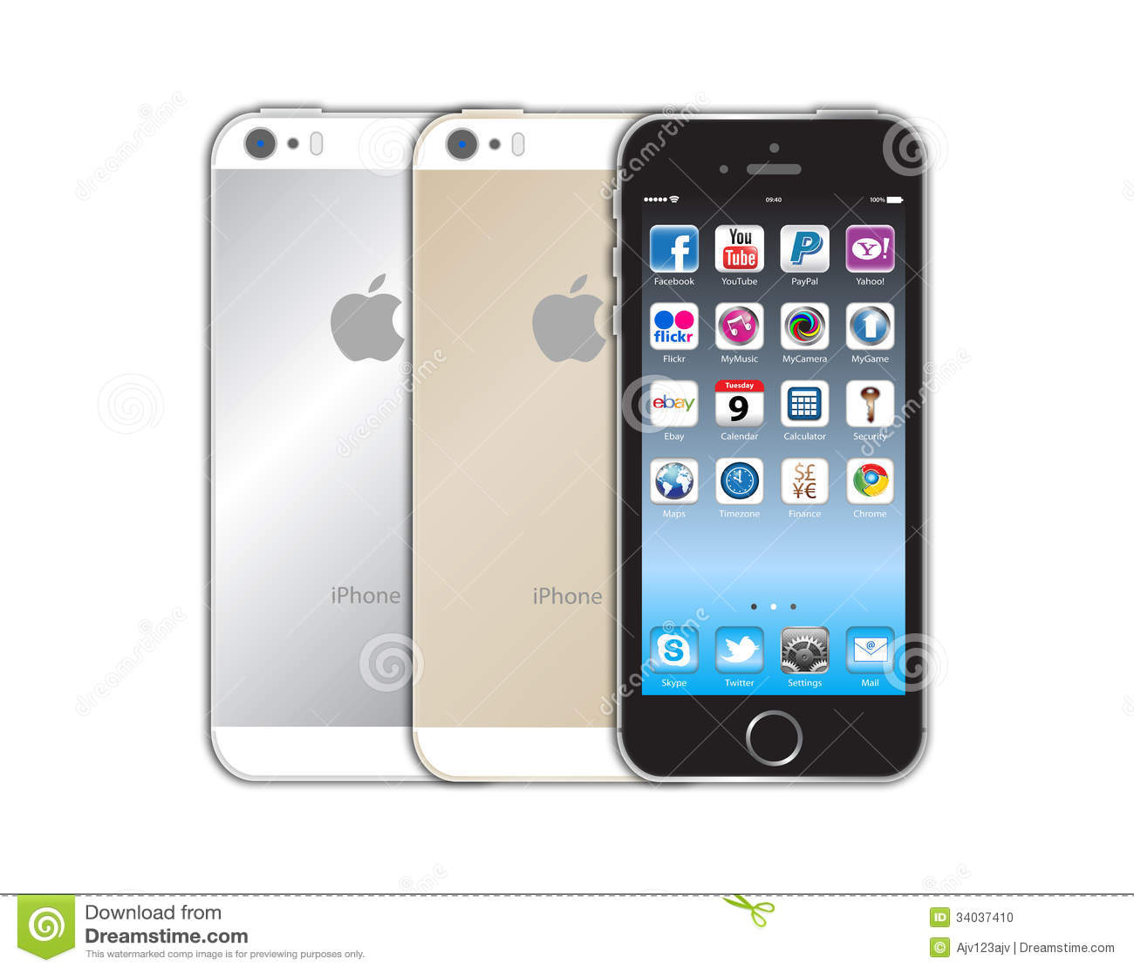 Neues Apple-iphone 5s