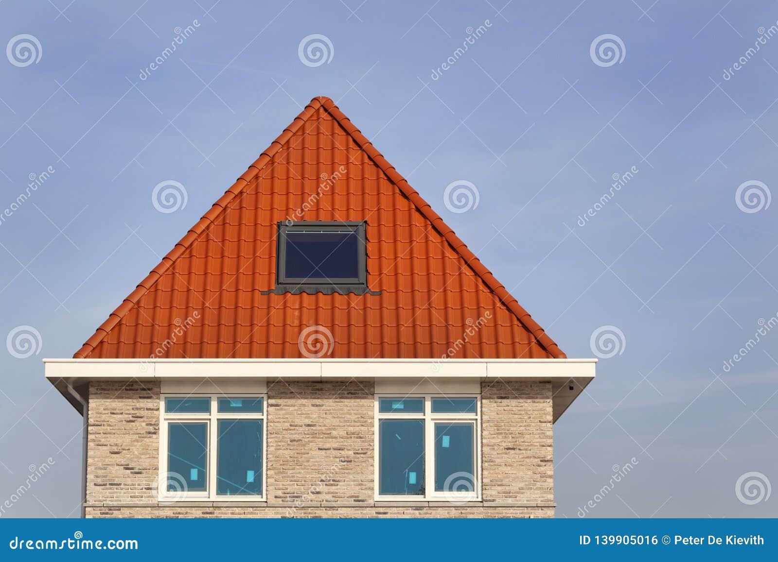 Neues errichtetes Haus in den Niederlanden