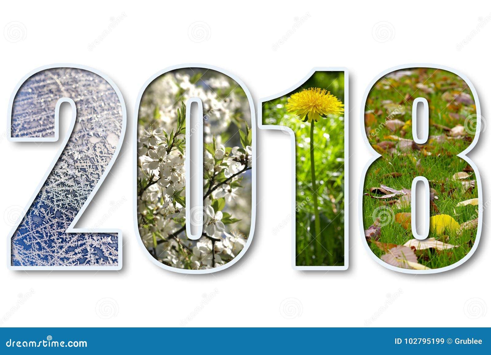 2018 neues Jahr