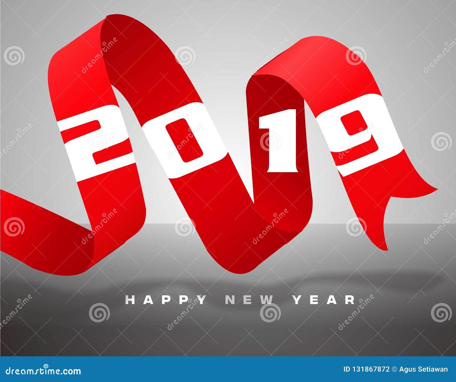 Neues Jahr 2019 des Bandes