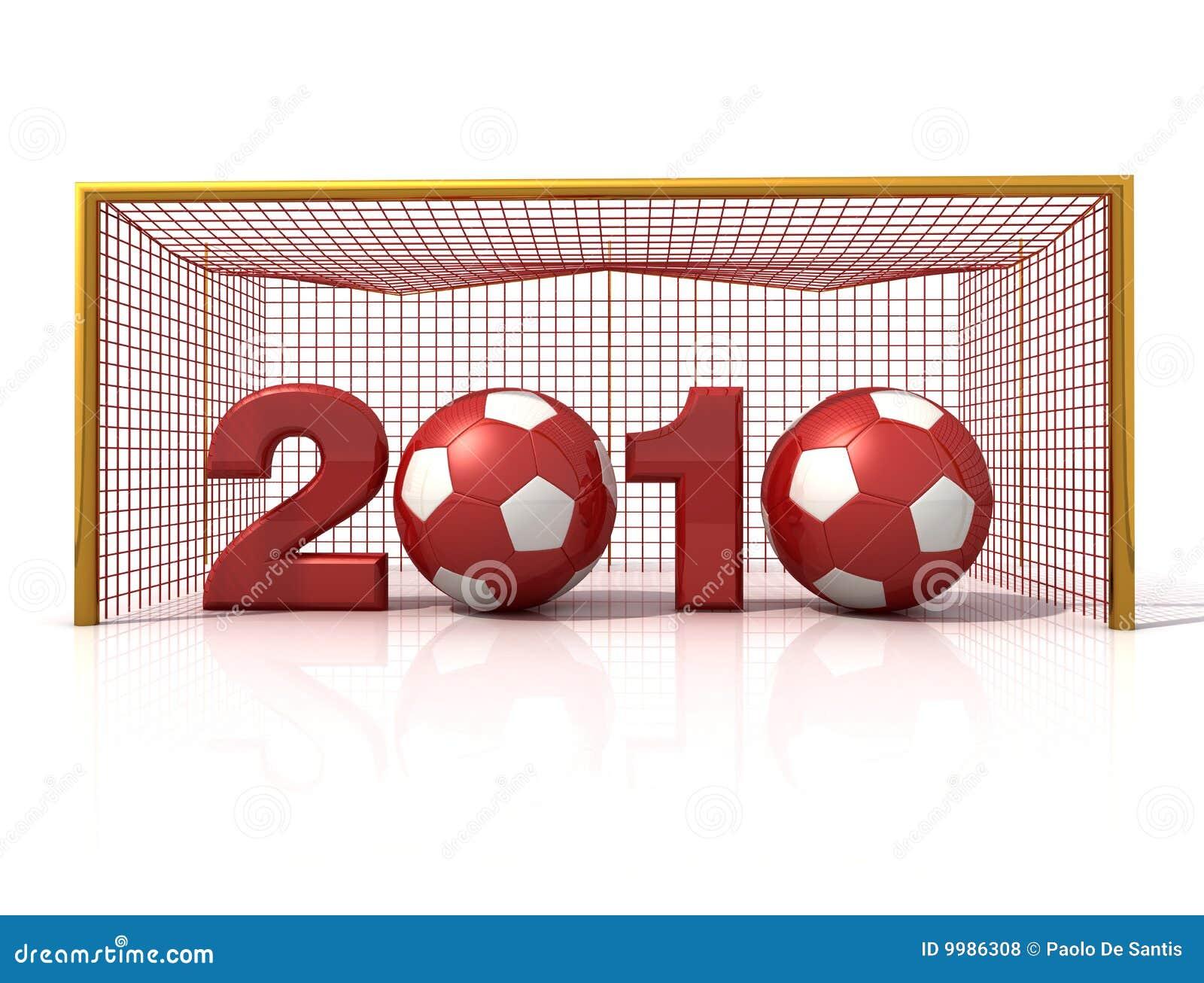 Neues Jahr des Fußballs